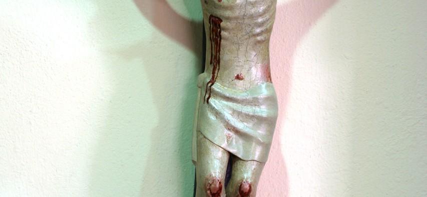 Cristo después de la restauración.