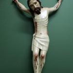 Anverso del Cristo tras la reintegración cromática.
