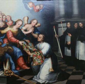 Pintura después de la restauración.